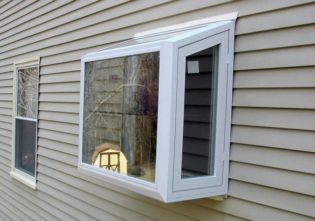 Vinyl Garden Window windows