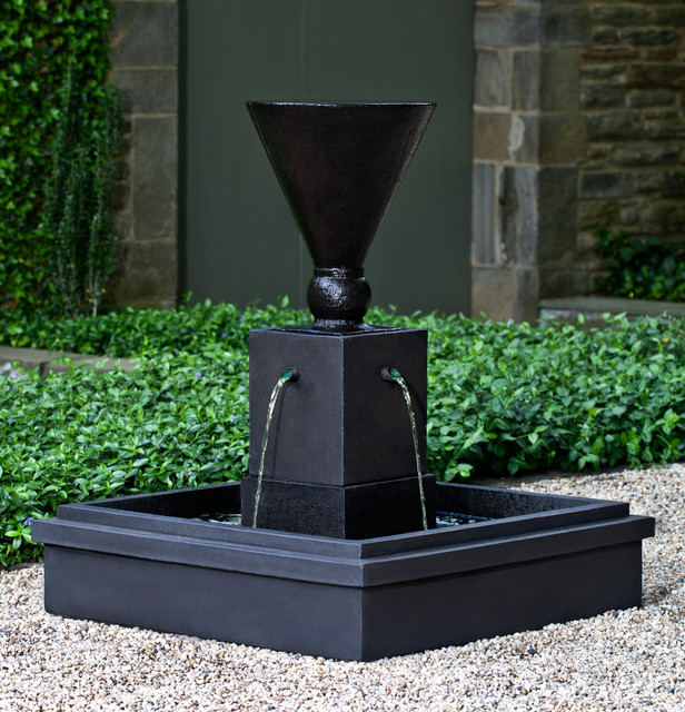 Contemporary Backyard Fountains :  Garden Fountain from Campania International modernoutdoorfountains