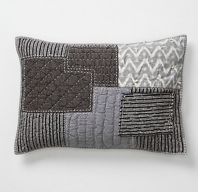 Boro Stitch Shams eclectic-pillowcases-and-shams