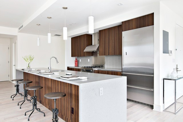 5 27 51st Ave Long Island City Modern Kitchen New York By Kuche Cucina