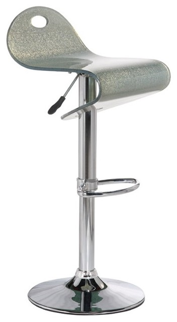Shar Acrylic Bar Stool Silver Bar Stools And Counter