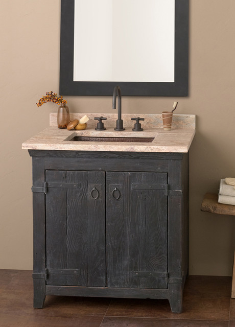 Native Trails 30 Americana Vanity In Anvil Farmhouse Bathroom Vanit