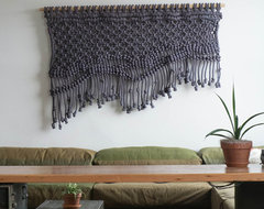Wall Hanging by Sally England, ACE Hotel in Portland, OR eclectic