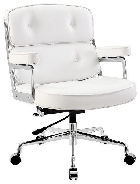 Remix Office Chair in White modern-task-chairs