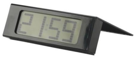 Vikis Alarm Clock, Black contemporary-alarm-clocks