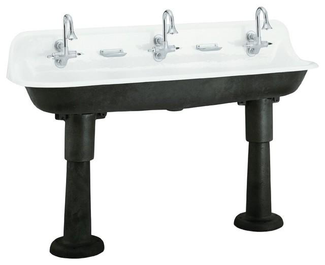 Kohler Brockway Wash Sink eclectic-kitchen-sinks