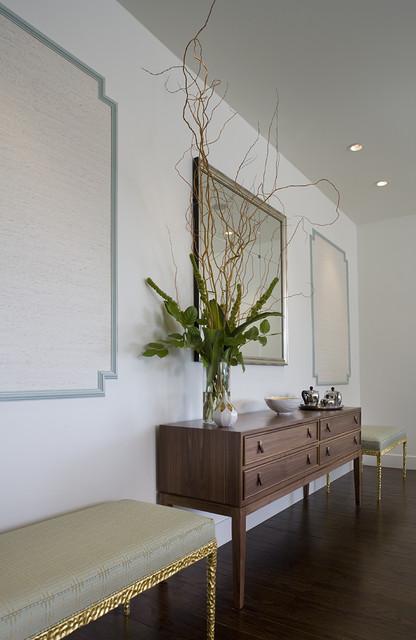 Tiburon Home contemporary-hall