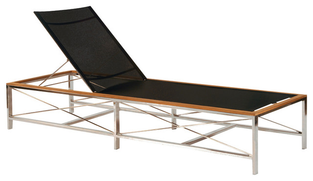 Ibiza Chaise - By Kingsley Bate modern-outdoor-chaise-lounges
