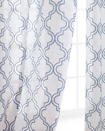 Softline Home Fashions Each 108L Ambrosia Sheer traditional curtains