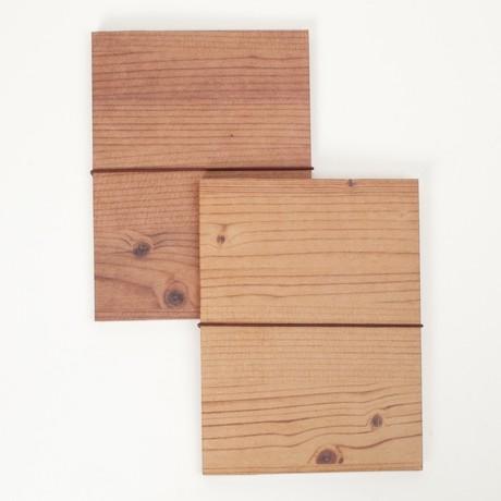 Wood Grain Eco Notebook contemporary-desk-accessories