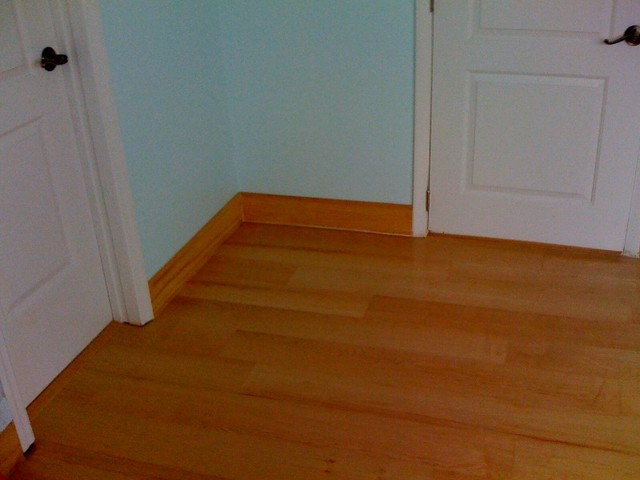 Floor Wood Baseboard : Wood floors and baseboard work in surfside fl modern