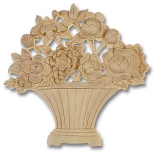 Decorative Wood Appliques - Onlays And Appliques - other ...