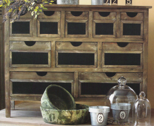 Wooden Chalkboard Hutch modern dressers chests and bedroom armoires
