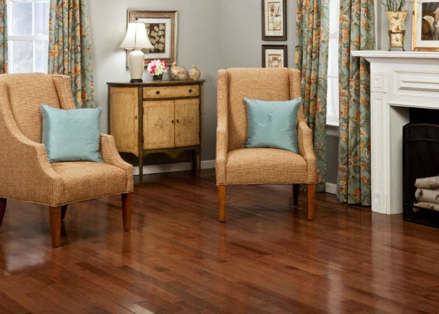 Casa de colour walnut hickory hardwood flooring by for Casa floor