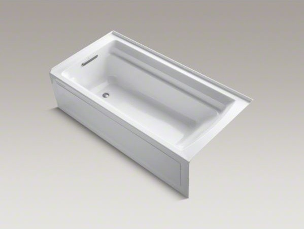 "KOHLER Archer(R) 72"" x 36"" alcove VibrAcoustic(R) bath with Bask(TM) heated surf contemporary-bathtubs"