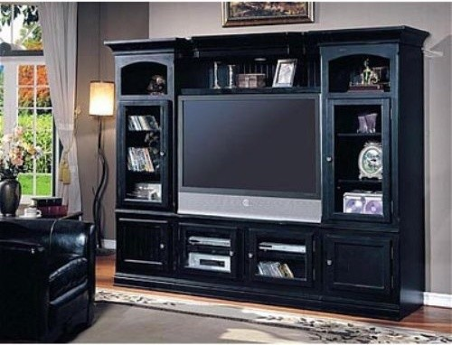 Parker House - Copper Canyon Entertainment Center For Flat Panel TV traditional-media-storage