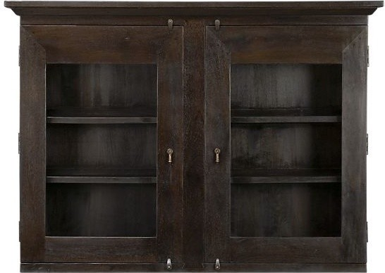 Basque Java Large Hutch Top traditional-dressers-chests-and-bedroom-armoires