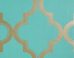 Marrakesh Honey Wallpaper mediterranean-wallpaper