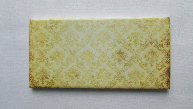 Daltile Ceramic Wall Tile Old Damask Floral Pattern ., 3x6 Wall Tiles Pack of 20 contemporary-tile