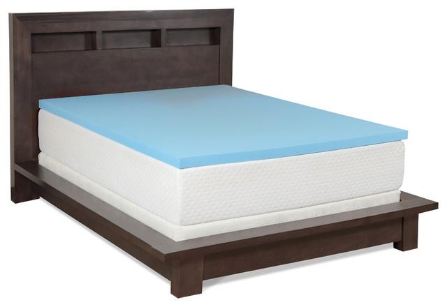 Select Luxury Gel Memory Foam 2 Inch Medium Firm Mattress