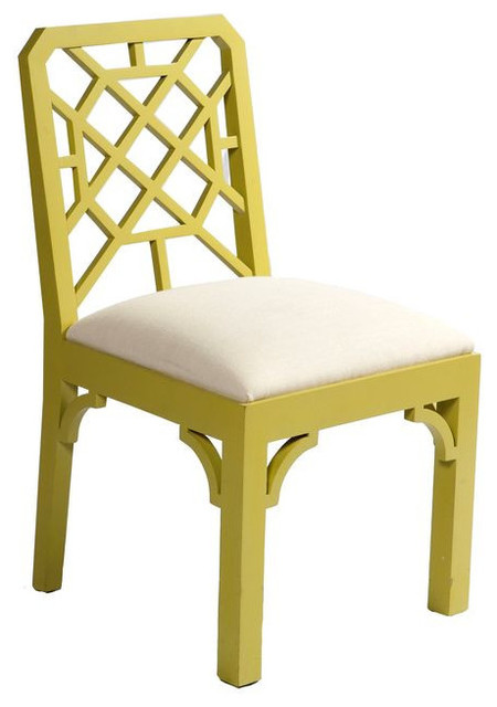 SOLD OUT Color Pop Chartreuse Chippendale Chair 1200
