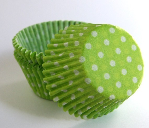 Polka Dot Cupcake Liners by Sweet Estelle's Baking Supply traditional-baking-cups