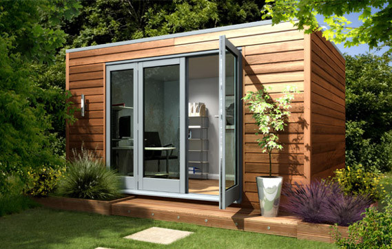 Prefab office shed