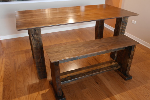 dining room tables rustic dining tables chicago by