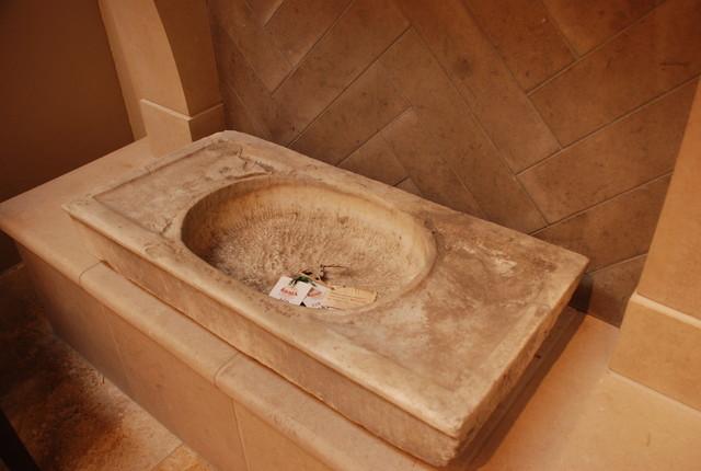 Reclaimed Inventory Mediterranean Bathroom Sinks