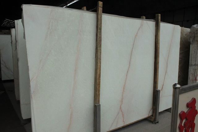 White onyx slab asian-vanity-tops-and-side-splashes