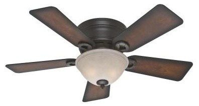Indoor Ceiling Fans: Hunter Conroy 42 in. Onyx Bengal Ceiling Fan 51023 contemporary-ceiling-fans