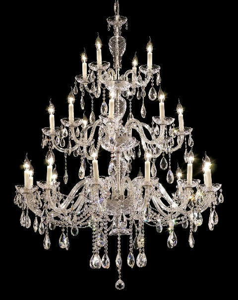 Alexandria Collection Extra Large Crystal Chandelier Chandeliers By Grand