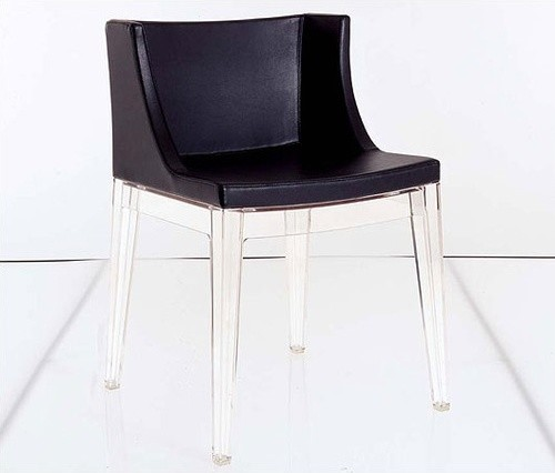 Mademoiselle Chair with Mid Back modern-living-room-chairs