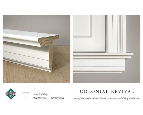 WindsorONE Colonial Revival Window Stool & Apron -