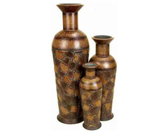 Vases Set of 3 contemporary-vases