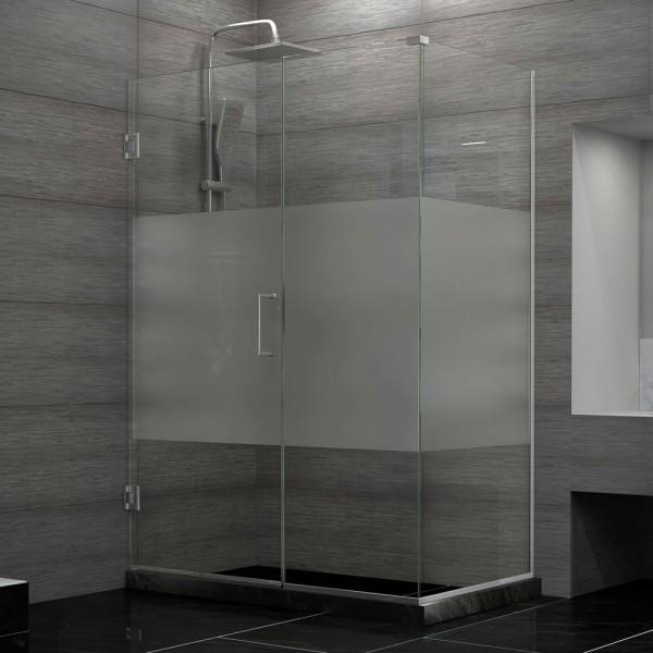 DreamLine SHEN-24510300-HFR-01 Unidoor Plus Shower Enclosure modern-showerheads-and-body-sprays