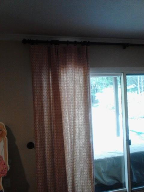 angela's living room traditional-window-treatments