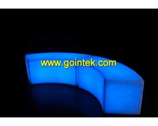 led bar stool for bar decoration -