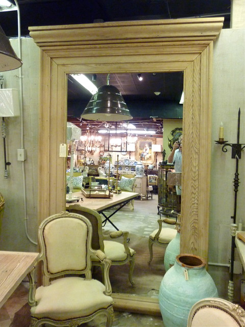 Antique Cypress Moulding Mirror  mirrors