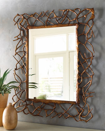 John-Richard Collection Twinings Mirror traditional-mirrors