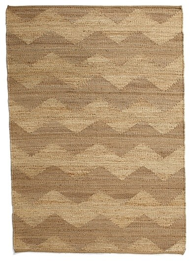 Chevron Jute & Hemp Rug traditional rugs