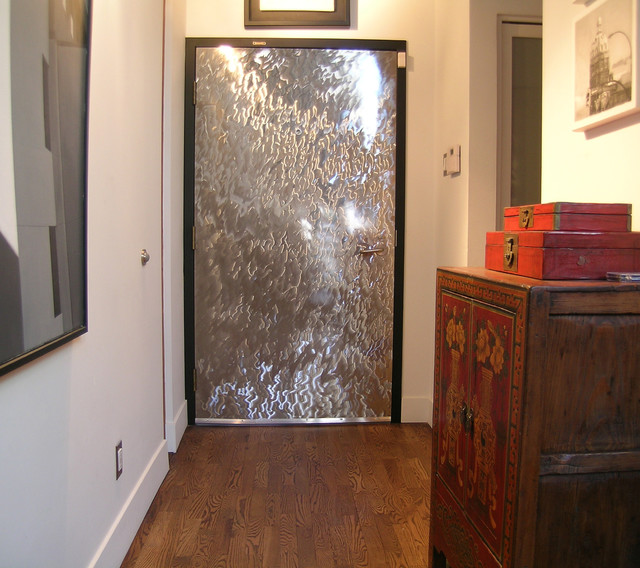 Gastown door facades eclectic interior doors for Custom made exterior steel doors