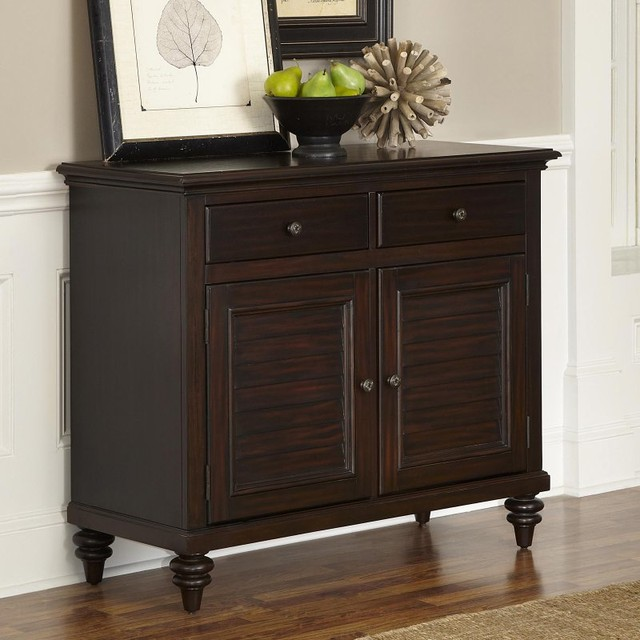 Home Styles Bermuda Espresso Dining Buffet Dark Brown 5542 61 Contemporar