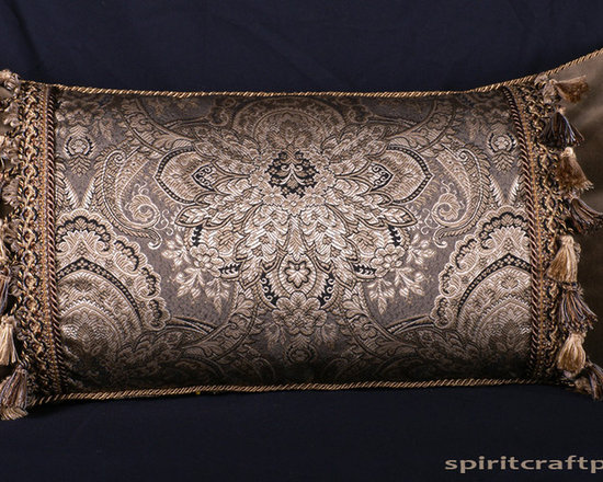 Designer Pillows by Spiritcraft Design - We design and craft decorative pillows in a variety of fabrics, styles and sizes to enhance any decor.  Our decorative pillows grace the homes of our clients nationwide.