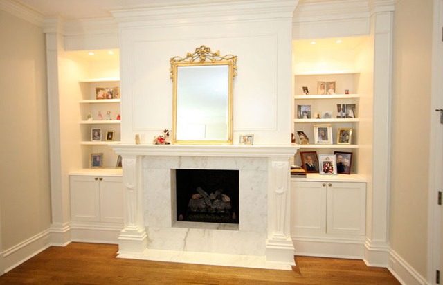 LG Construction and Development Living Spaces contemporary-living-room