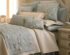 Sea Blue Bed Linens  traditional bedding