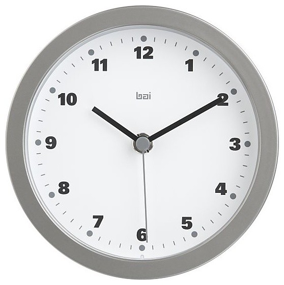 Studio White Wall Clock Modern Clocks By Crate Barrel
