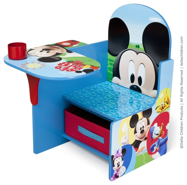 Disney Mickey Mouse Chair Desk Modern Kids Desks And