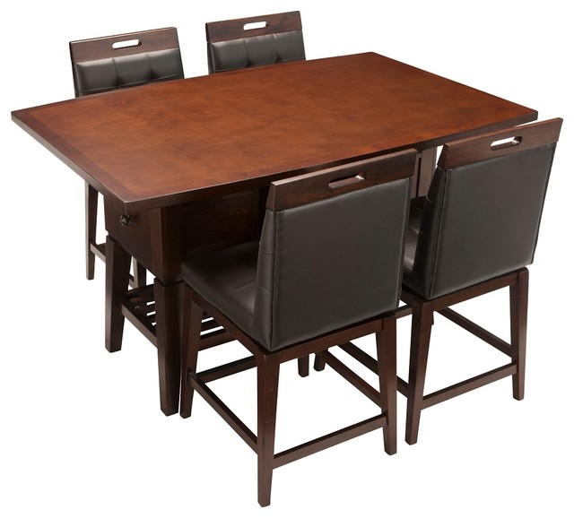 raymour and flanigan counter height dining table