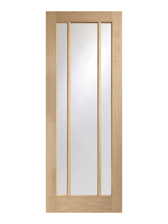 Doors by ABL Doors - Want to let in light into your room while obtaining perfect style? This ABL Doors' Worcester Glazed Oak Door has three glazed panel doors. For creating a bright and airy room while retaining warmth and looks.
